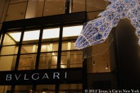 Come on! Bulgari! She wants a necklace or something!