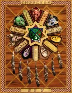 cherokee_clan_masks_by_harrybuddhapalm-d2ab2ua