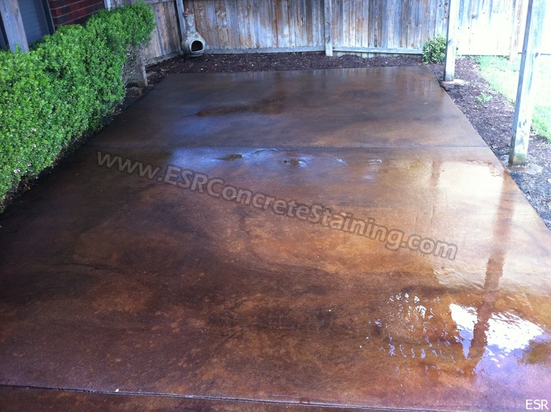 patio concrete staining coppell tx 14