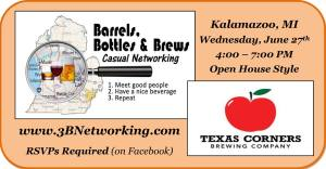 Barrels Bottles and Brews - Kalamazoo - June Event 2018 @ Texas Corners Brewing Company | Kalamazoo | Michigan | United States