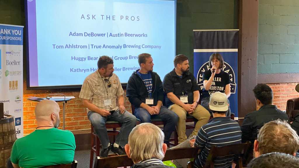 Brewery in Planning Summit 2019 Ask the Pros panel