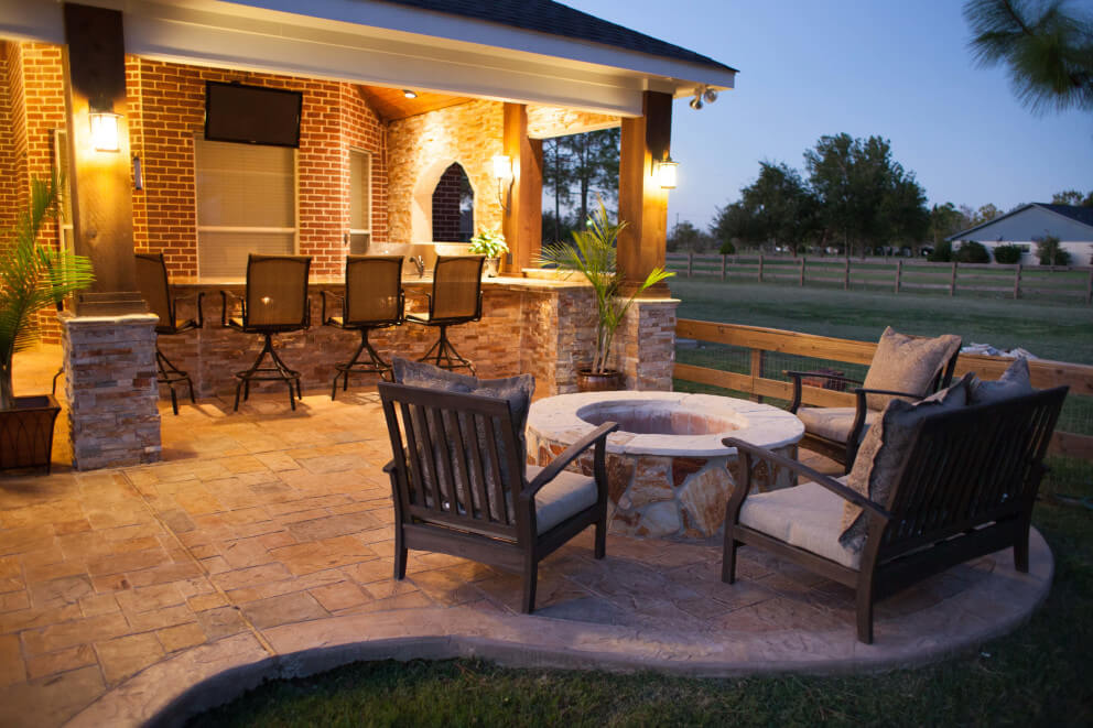 A Taste Of The Hill Country In Richmond - Texas Custom Patios on Patio Designs Images  id=39350