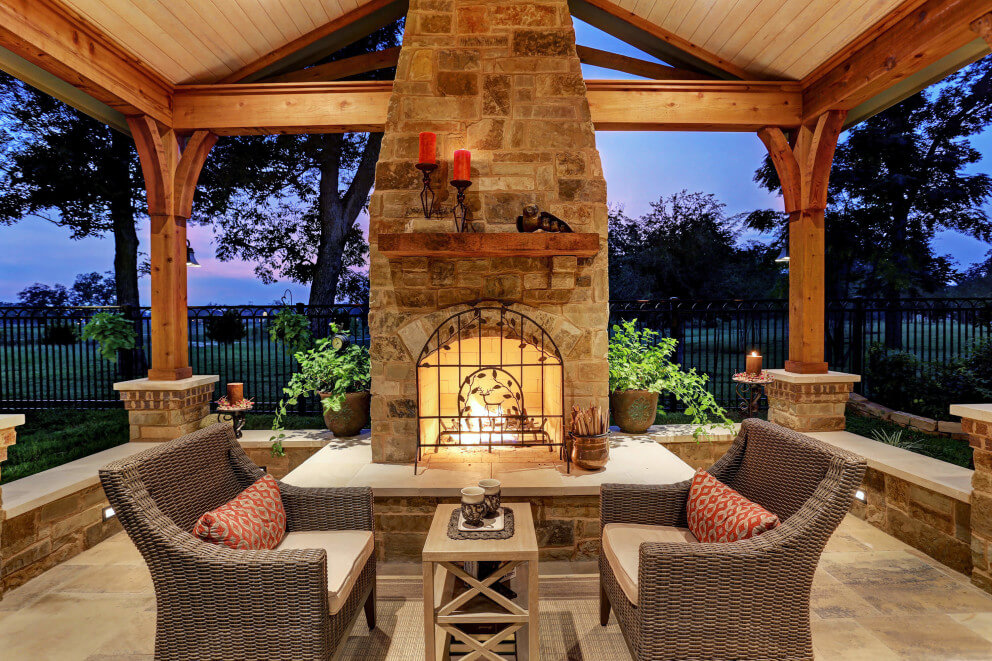 Hill Country Charm with Scandinavian Accents - Texas ... on Country Patio Ideas id=30427