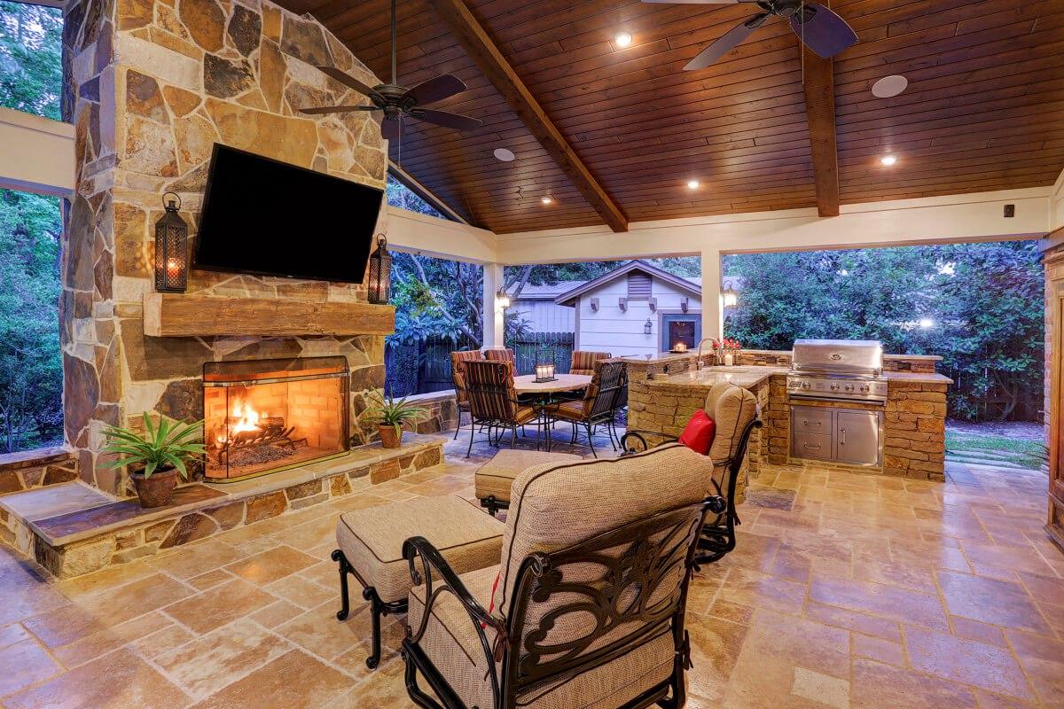 Texas Hill Country Design Ideas   Joy Studio Design ... on Custom Outdoor Living id=44945