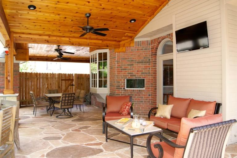 Patio Covers Houston, Dallas, Pergolas, Patio Design, Katy ... on Custom Backyard Designs id=59820