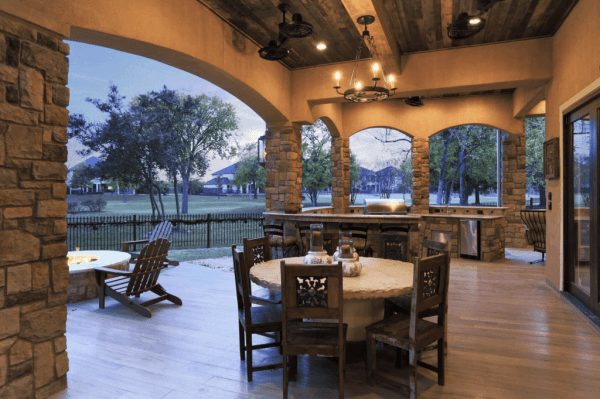 covered outdoor kitchens and patios Beautiful covered patios - Texas Custom Patios