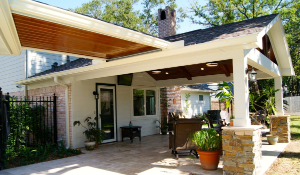 covered outdoor living patio Outdoor Living Blog - Texas Custom Patios