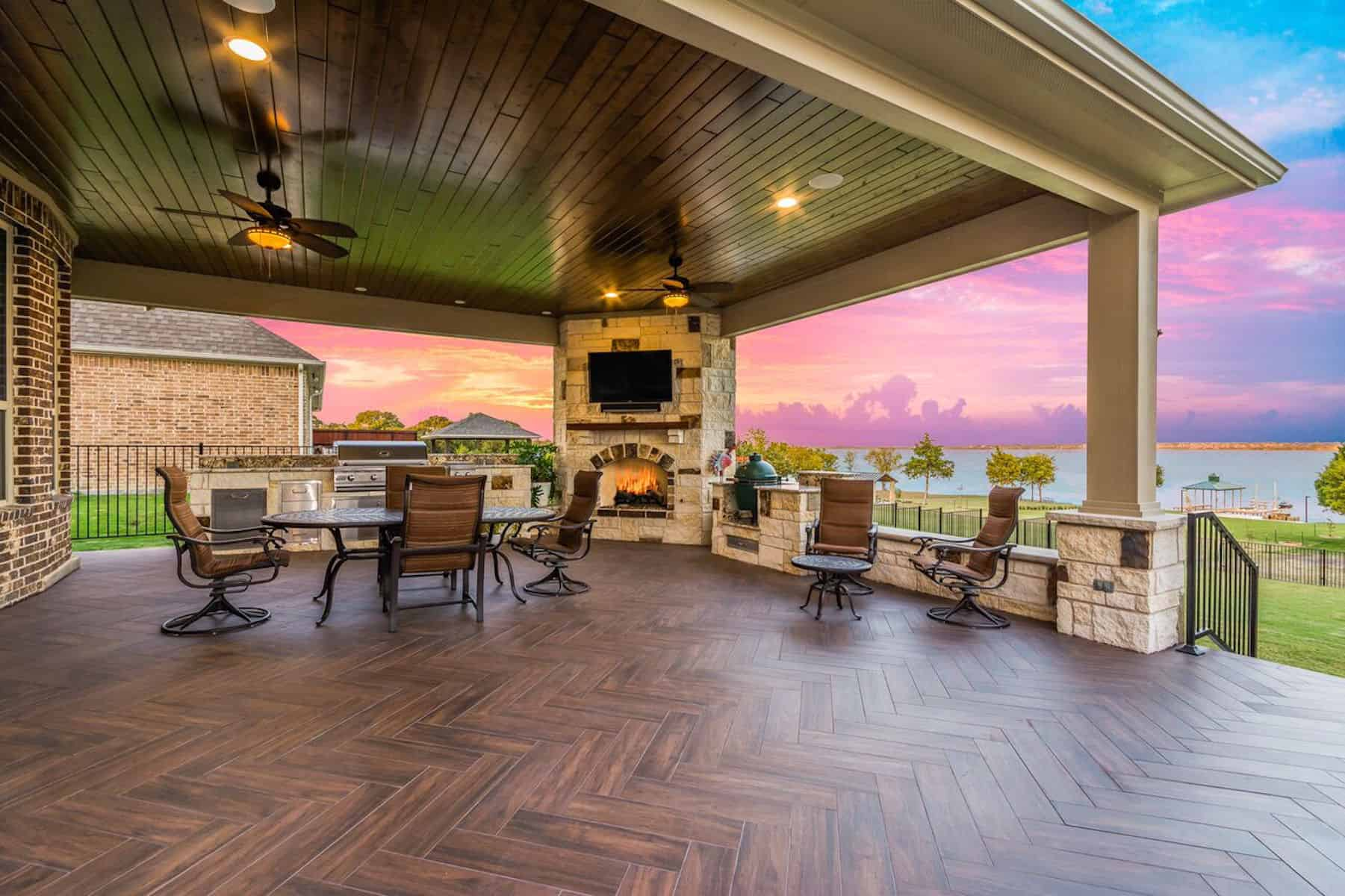 Outdoor Living Blog - Texas Custom Patios on Covered Outdoor Living Area id=30756