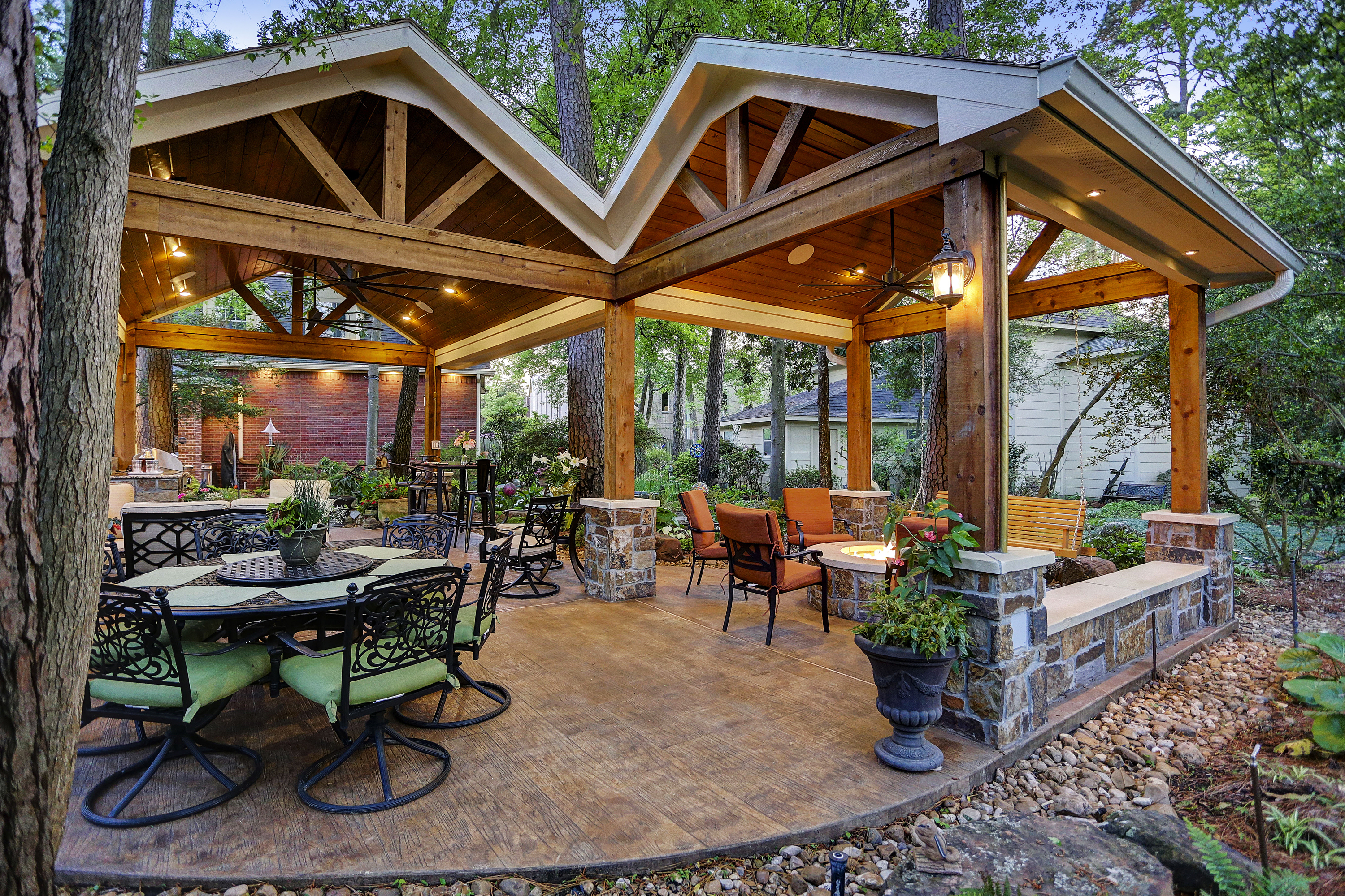 beautiful outdoor living spaces Archives - Texas Custom Patios on Garden Living Space id=96159