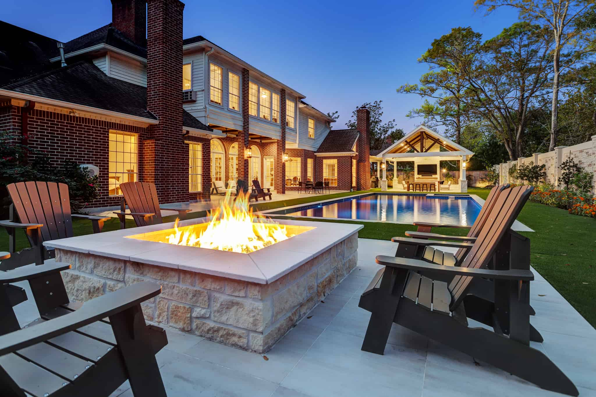 fire pit archives texas custom patios