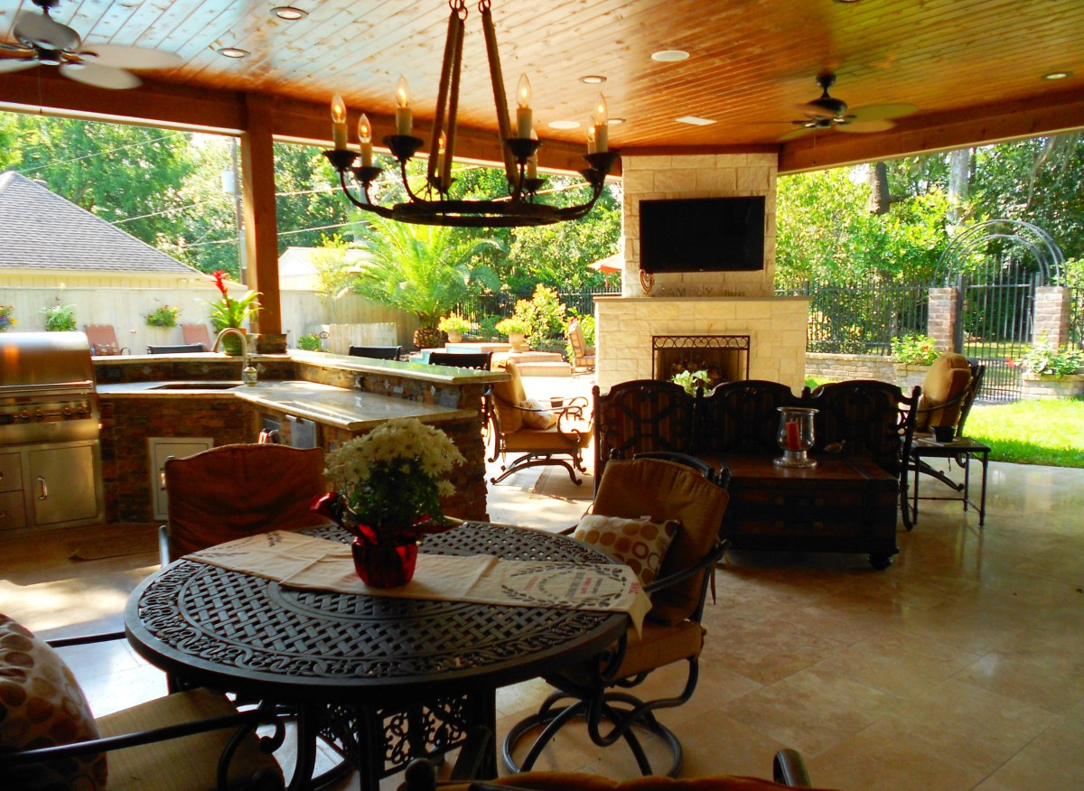 Your Dream Patio: How Much Should You Budget? | Texas ... on Patio Layouts  id=27863