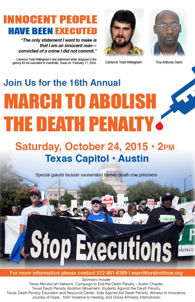 TMN_4C_POSTERB2015MarchtoAbolishDeathPenalty