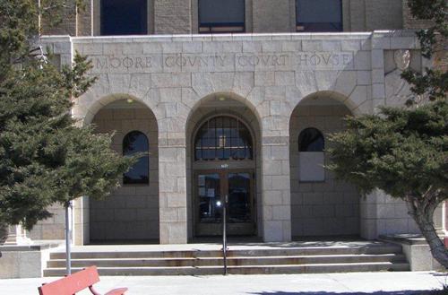 Moore County Courthouse Dumas Texas