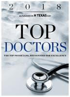 Houston Top Doctors Award 2018