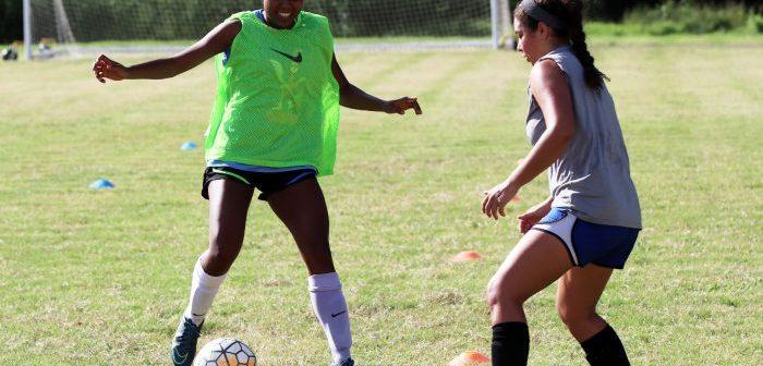 Angelina College Ladies Soccer Practice Gets Underway