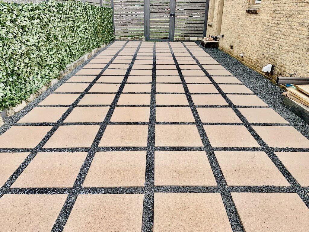 patio concrete pavers white 24 24 price piece