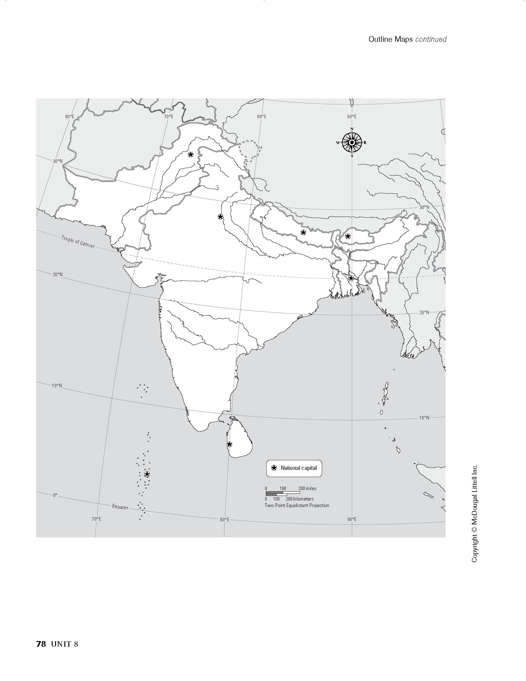 Unit 8 South Asia