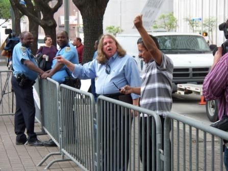 Communists being laughed at by HPD