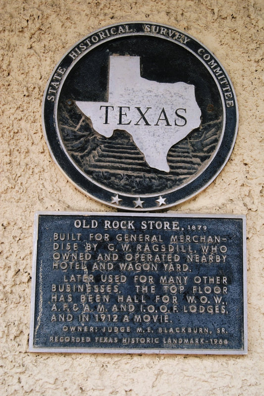 Old Rock Store 1879 Texas Historical Markers