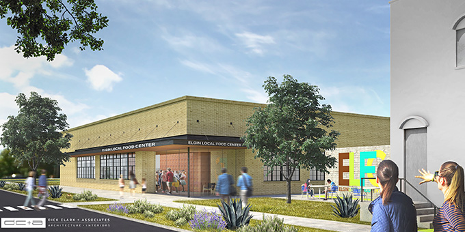 Elgin Local Food Center Rendering