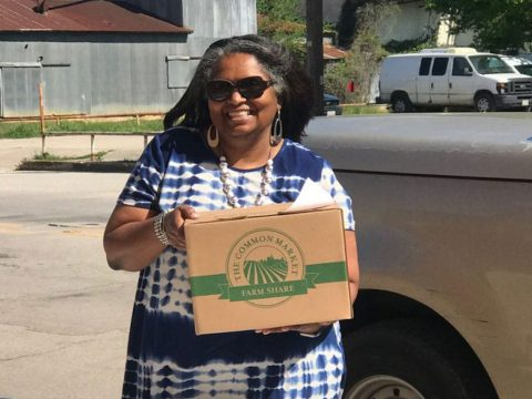Texas Farms Veggie Box