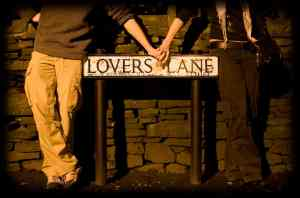 Lovers lane at Texas Marriage Retreat