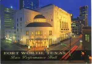 Bass Hall fort worth TX