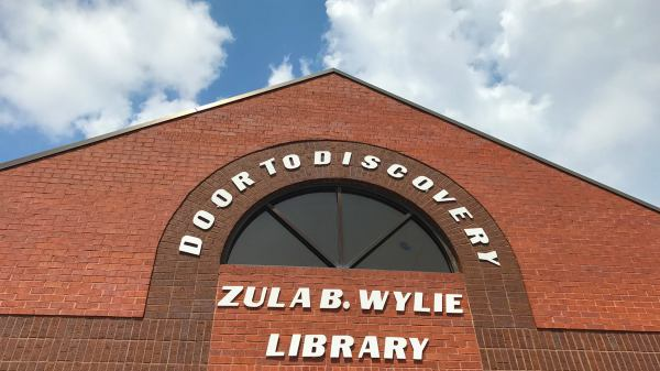 Zula B. Wylie Public Library in Cedar Hill