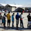 Haitian asylum seekers
