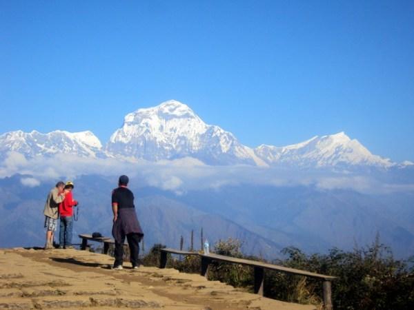 Dhaulagiri Range from Poon Hill