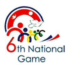 Logo for Sixth National Games
