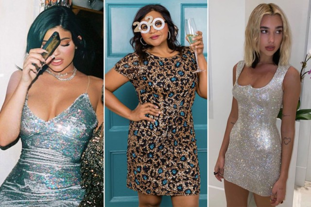 Best Celebrity NYE Outfits