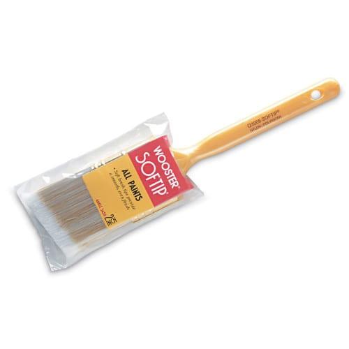 Soft angle brush