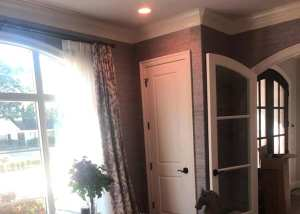 Wall Coverings Violet Purple Grasscloth