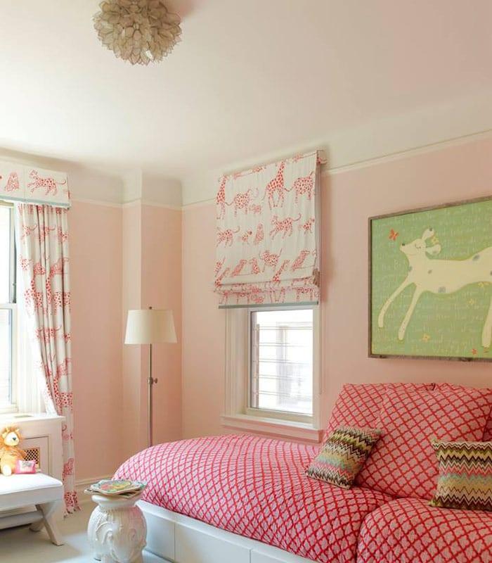 Girls Painted Bedroom