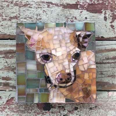 DeniseMosaics-Pet Portraits Dog Display Gallery 13