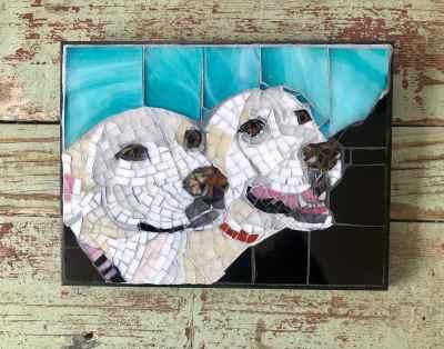 DeniseMosaics-Pet Portraits Dog Display Gallery 19