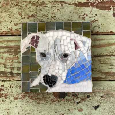 DeniseMosaics-Pet Portraits Dog Display Gallery 8