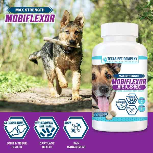 Texas Pet Company Mobiflexor Hip & Joint Chewable Tablets Summary