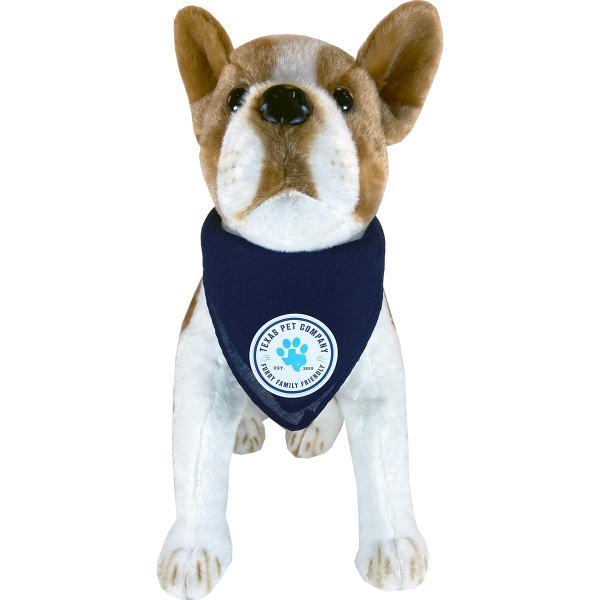 Texas Pet Company Official Brand Seal Logo Dog Bandana Model 2