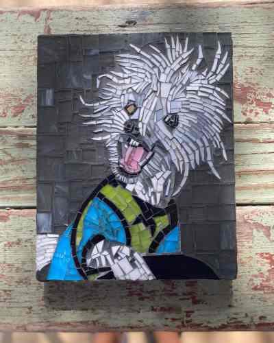 Texas Pet Co Pet Mosaic 8x10 5