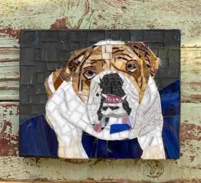 Texas Pet Co Pet Mosaic 8x10 6