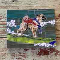 Texas Pet Co Pet Mosaic 8x10 7