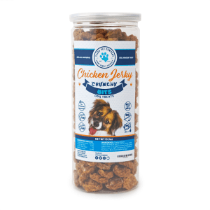 Texas Pet Company Chicken Jerky Bits Dog Treats Front