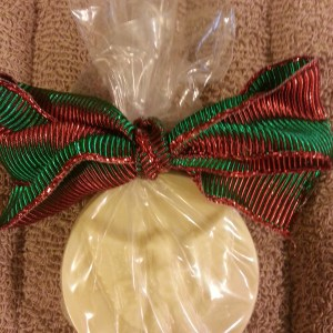 Round scout medallion soaps