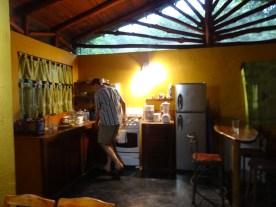 Kitchen of Casa Astrid.