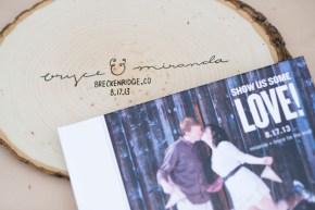 Miranda + Bryce | V3 Ranch Breckenridge Woodland Wedding