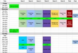 2018 TRU Summit Schedule