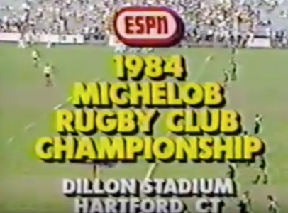 1984 USA Rugby National Club Championship - Dallas Harlequins vs LA