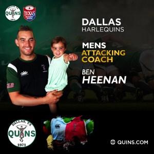 Men's Attack Coach – Ben Heenan